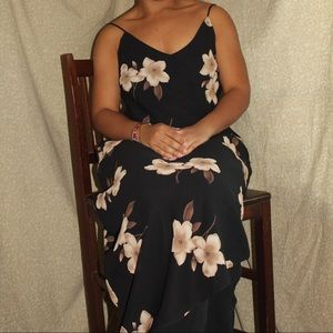 Classically vintage floral gown